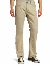 Levi's Mens Jeans Natural Beige Size 33x30 Athletic 514 Straight Leg $59- 230