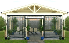 More details for clear pvc outdoor patio blinds gazebo veranda summer house outdoor blinds