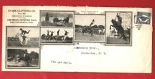 Cheyenne Frontier Days1926 illus.legal envelope to Rochester NY with C3 franking
