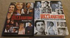 Greys Anatomy - Seasons 1 & 2 DVD