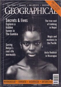 the geographical magazine-JUNE 2001-THE GAMBIA.
