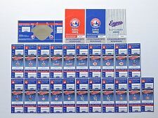 Complete Set of 2003 Montreal Expos Puerto Rico Ticket Stubs & Parking Passes