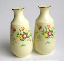 Salt & Pepper Shakers Noritake Impression 8164 W83 Cream & Floral