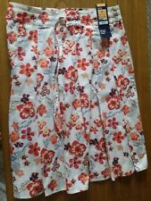 * NEW * M&S ladies 100 % cotton skirt 10