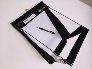 RainWriter A4 Portrait EcoWriter Waterproof Clipboard Black    LIFETIME WARRANTY