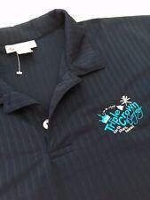 Van's Triple Crown Surfing North Shore Hawaii Logo Polo Golf Shirt Xl Blue Nwot