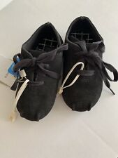 ZARA Baby leather derby shoes, Black, size 4.5, NWT