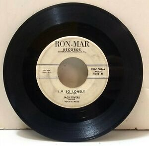 Jack Rivers - I'm So Lonely / Call On Me - RON-MAR RECORDS RM-1001