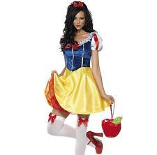 ️ Smiffys Smiffy's - Costume da Biancaneve Incl. Vestito Fascia e Giarre