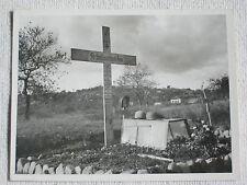@@ orig Foto Kampf um Kreta / Maleme Grabanlage Major Braun Fallschirmjäger  @@