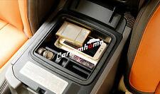 Black Interior Armrest Storage Box Holder 1pcs For Toyota Prado Fj150 2010-2016