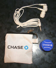 US OPEN TENNIS HEADPHONES EAR BUDS CHASE 2012 BALL Bag Travel Championship Event
