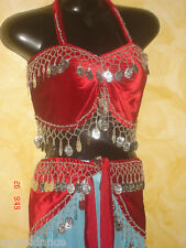 SET BRA + CINTURA DANZA DEL VENTRE BELLY DANCE