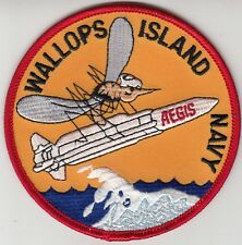 WALLOPS ISLAND NAVY AEGIS CHEST PATCH