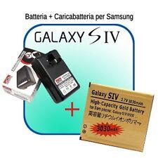 Batteria Marca Smartex  + CARICABATTERIE per  GALAXY S4 i9500 carica 3030 mAh