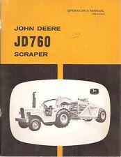 John Deere 760 Self-Propelled Scraper Operator's Manual