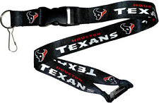 Houston Texans Break Away Lanyard with Double Sided Logo/Graphics