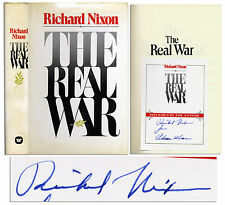Richard Nixon Signed ''The Real War'' 1st Review Edition