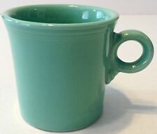 Fiesta Coffee Mug Ring Handle Teal Green