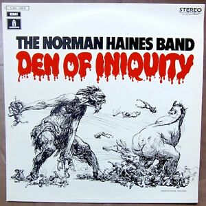 THE NORMAN HAINES BAND Den Of Iniquity ORIGINAL FRENCH PRESS MINT / MINT