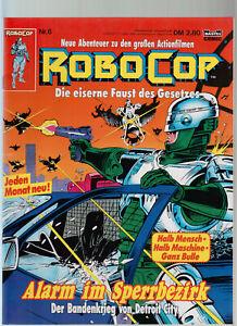 Robocop 1 - 12 komplette Serie Bastei Hefte / Großbandüberformat (0-1) - (0-1/1)
