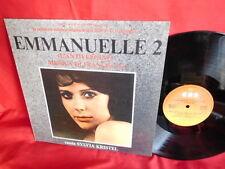 FRANCIS LAI Emmanuelle 2 L'antivergine OST LP 1975 ITALY Sexy Cov Sylvia Kristel