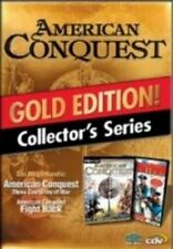 AMERICAN CONQUEST GOLD inkl FIGHT BACK AddOn und Divided Nation GuterZust.