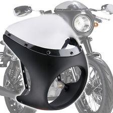 """Retro Cafe Racer Style Handlebar Fairing&Screen Universal For 7"""" Headlight"""