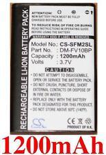 Batterie 1200mAh type DM-FV10BP Pour DM-Tech DM-AV10