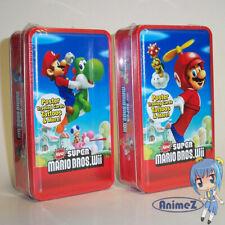 NEW SUPER MARIO BROS. Wii Trading Card Collector's Tin Propeller Mario / Yoshi