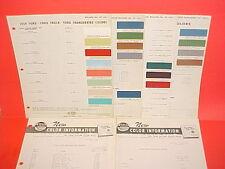 1959 FORD THUNDERBIRD GALAXIE FAIRLANE SKYLINER RANCHERO SUNLINER PAINT CHIPS +
