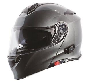 Torc T28B T28 Bluetooth or no BT Modular Dual Visor Motorcycle Helmet or Shields