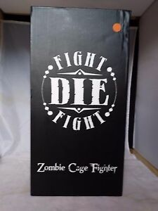 RANDY BOWEN ZOMBIE CAGE FIGHTER  porcelain model kit 1/6 scale comic and shirt