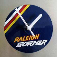 Lightweight Raleigh team aero pro burner BMX stunt bike wall CD clock 120mm.