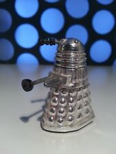 Doctor Who Dalek Rolykin Silver Chrome Effect Retro Vintage Classic Figure