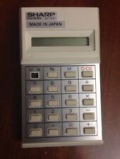 VINTAGE SHARP ELSI MATE EL-208 CALCULATOR 1970'S MADE IN JAPAN 1979 COLLECTIBLE