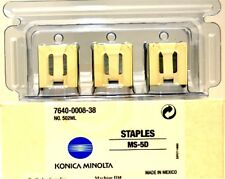Genuine Konica Minolta 4448-121 Staples (3 PACK) MS-5C NO.500ML 4448121 NIB
