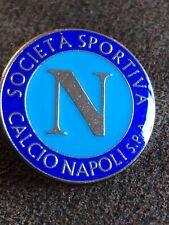 SS NAPOLI Italian Italy  Football Club Enamel Pin Badge Butterfly Clasp Crest