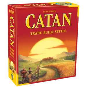 NEW Settlers of Catan MAIN Board Game *AU Seller*