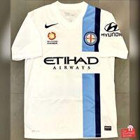 Authentic Nike A-League Melbourne City 2014/15 Home Jersey. Size M, Exc Cond.