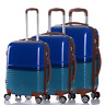 4 Wheel Hard Shell Trolley Suitcase Luggage Cabin Case Travel Hand Bag S M L