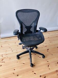 Herman Miller Aeron - Bürostuhl - Größe B  -Ergonomischer Stuhl - Bürostuhl