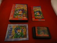 Sonic the Hedgehog 3 (Sega Genesis, 1994) COMPLETE w/ Box manual game WORKS! #T1
