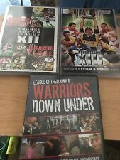 3 Rugby League DVDs - Super League XII / XIII / Warriors Down Under - FREE P&PUK