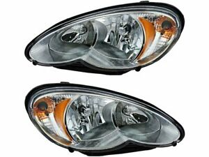 For 2001-2005 Chrysler PT Cruiser Headlight Assembly Set 59335FP 2002 2003 2004