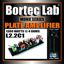 Bortec Lab 1300 watt Mono Plate Amplifier with H/P and L/P for Subwoofer