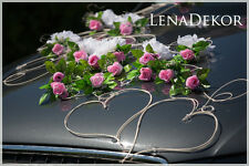 wedding car decoration, ribbon , bows, prom limusine decoration, deo