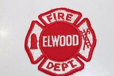 Fire Patch  Elwood Fire Dept