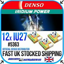 12 x DENSO IRIDIUM PLUGS *SALE* IU27 FOR SUZUKI,RF900R R, S, T, V, W 900