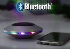 Bass Jaxx™ Bluetooth Wireless Silver LED UFO Stereo Speaker